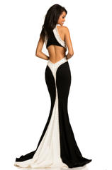 8063 Black / White back