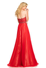 8073 Red/Nude back