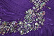 X85P6301 Purple/Crystal detail