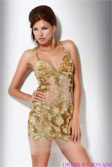 14338 Gold/Nude front