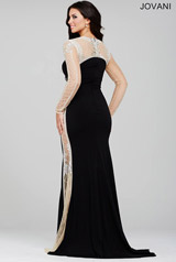22954 Black/Nude back