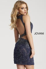 45569 Navy/Nude back