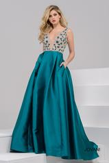 47234 Teal/Nude front