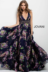 49968 Navy/Print front