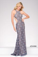 49922 Navy/Nude front