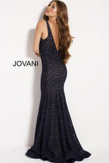 59631 Navy/Nude back