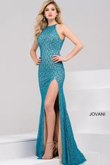 46850 Teal/Nude front
