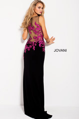 58966 Black/Fuchsia back