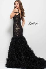 50334 Black/Nude back