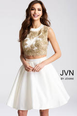 JVN45597 White/Gold front