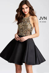 JVN53174 Black/Gold front