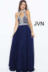 JVN53380 Navy/Silver front