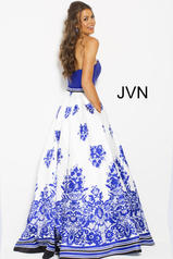 JVN58592 Ivory/Royal back