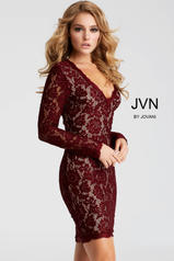 JVN42635 Red(Wine)/Nude front