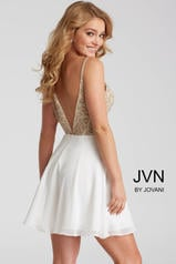 JVN53178 Ivory/Gold back