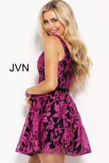 JVN53382 Black/Fuchsia back