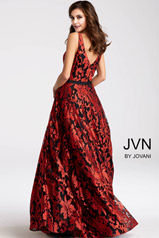 JVN53383 Black/Red back