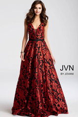 JVN53383 Black/Red front