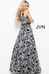 JVN53383 Black/White back