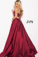 JVN59636 Burgundy back