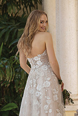 44073 Blush/Silver/Nude back
