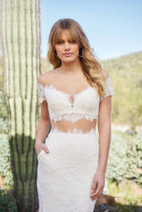 6519 Ivory/Nude detail