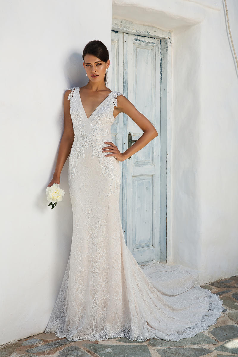 Justin Alexander Bridal 8966 Justin Alexander Bridal lace prom ...