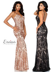 E1208 Envious Couture Prom by Karishma