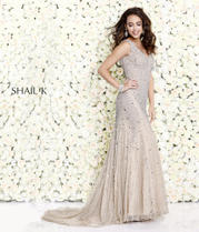 1143 Nude Silver front