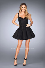 24628 La Femme Short Dress