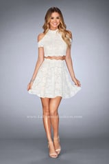 25021 La Femme Short Dress