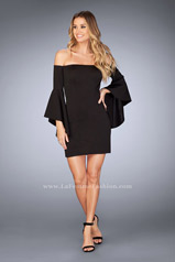 25033 La Femme Short Dress