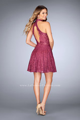 25099 La Femme Short Dress