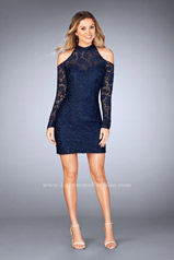 25170 La Femme Short Dress