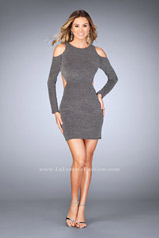 25306 La Femme Short Dress