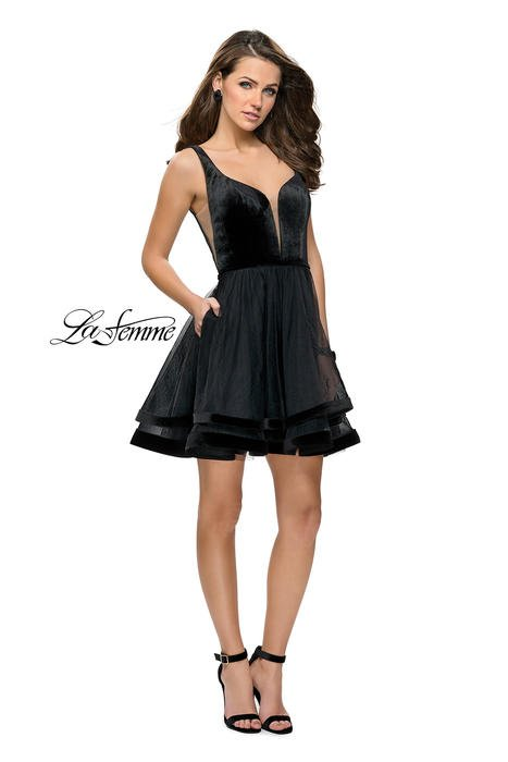 LaFemme Short Dress