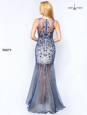 95071 Navy/Nude back