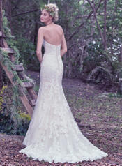 Jennita-6MZ797 Ivory/Pewter Accent back