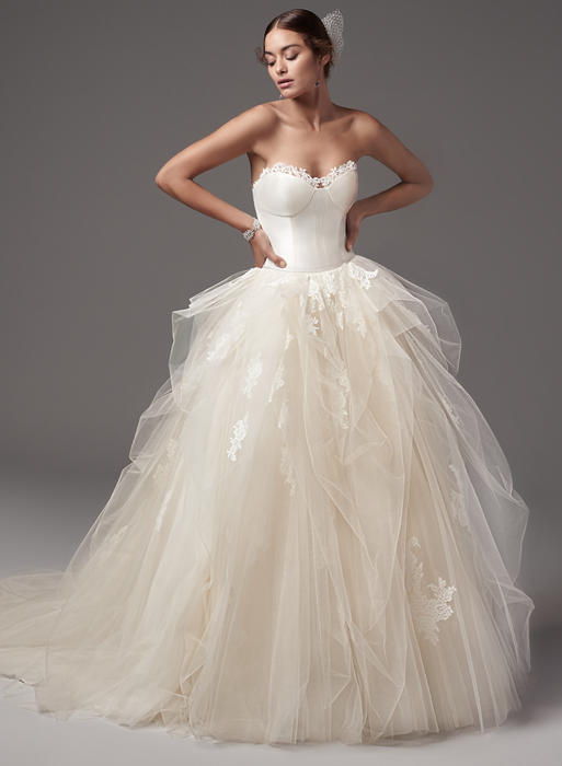 Sottero and Midgley Collection-Foster-Rose