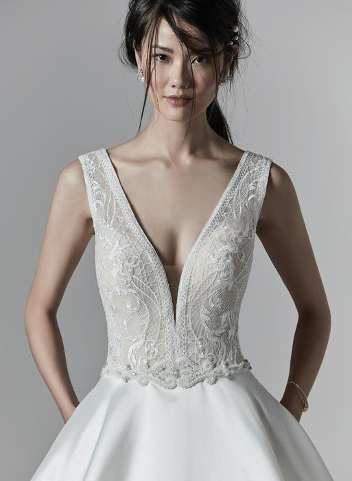 Sottero and Midgely-Beaded Belt Only
