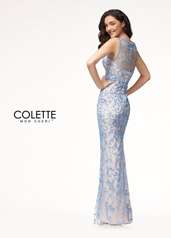 CL18252 Periwinkle/Blush back