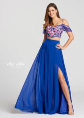 EW118103 Royal Blue/Multi front