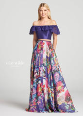EW118105 Purple/Multi front