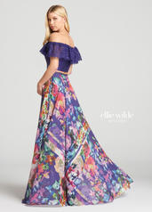 EW118105 Purple/Multi back