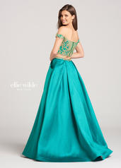 EW118122 Emerald/Gold back