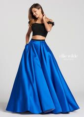 EW118168 Black/Royal Blue front