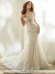 Y11710-Fleur Ivory/Light Champagne front