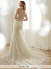 Y11710-Fleur Ivory/Light Champagne detail