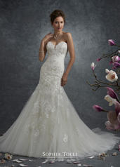 Y21763 Ivory/Light Champagne front