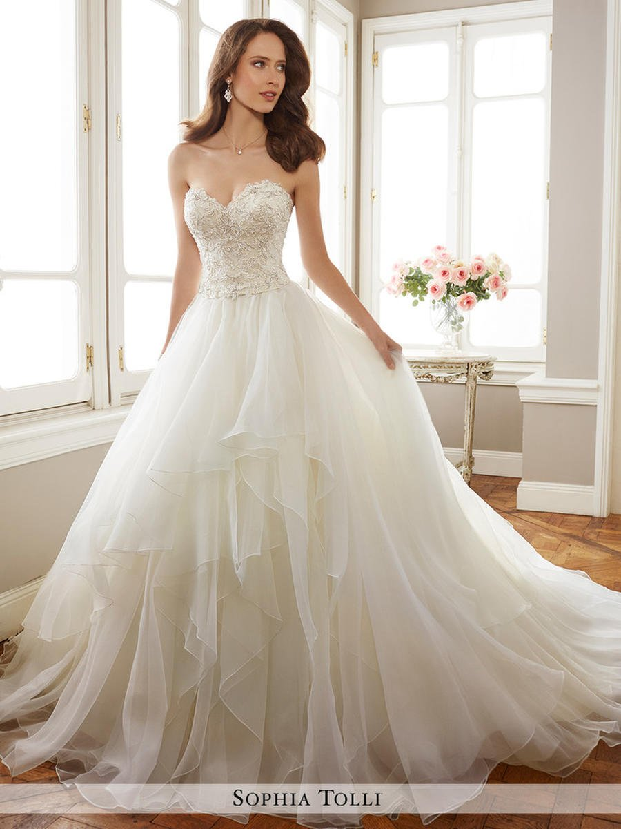 Wedding Dresses by Sophia Tolli � The Perfect Dress New Jersey ...